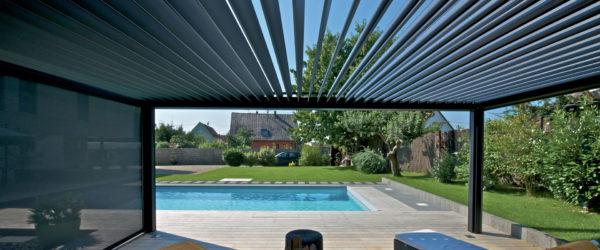 pergola terrasse piscine liege