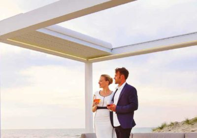 pergola orientable retractable b600