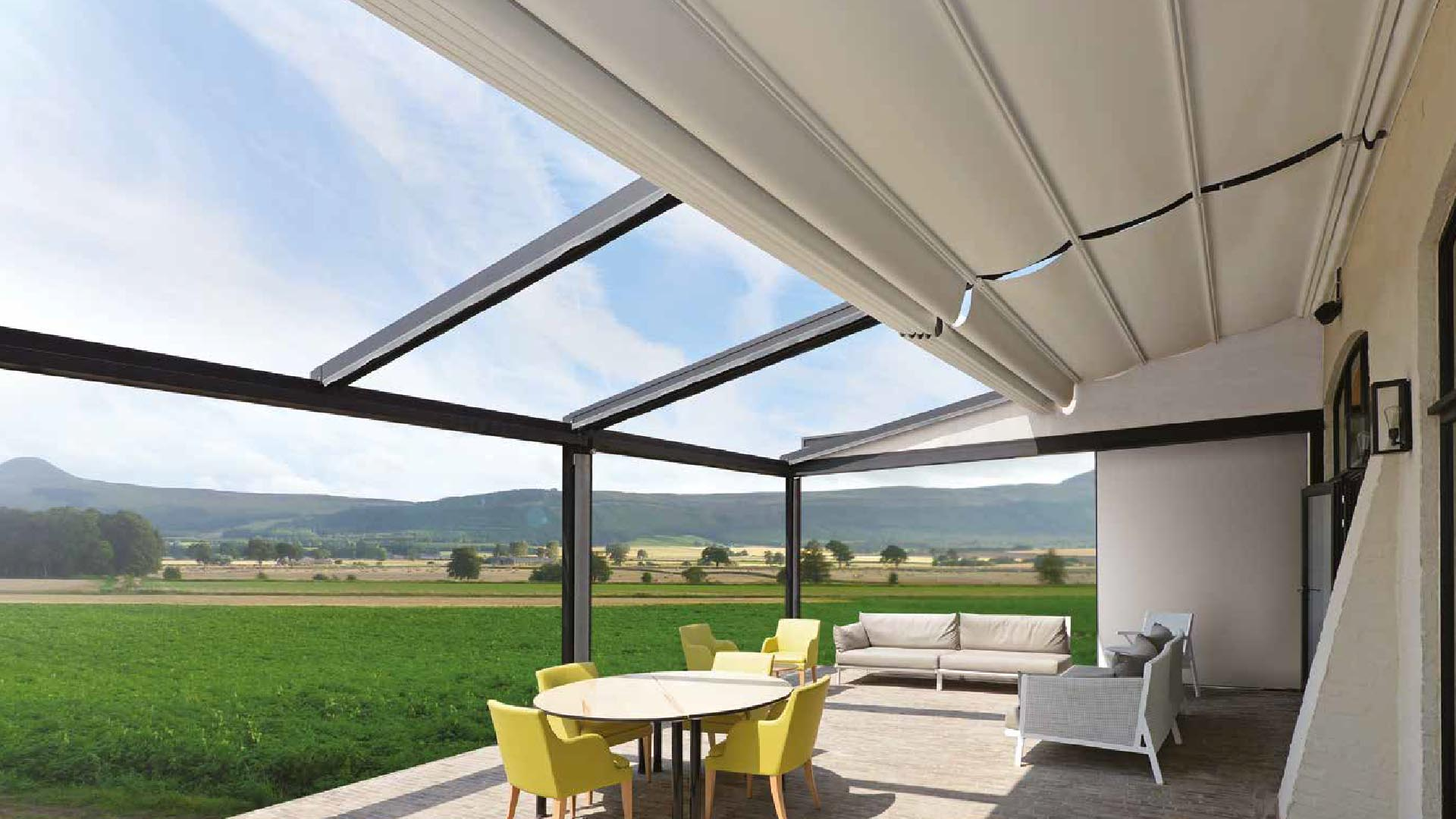 pergola terrasse retractable b500