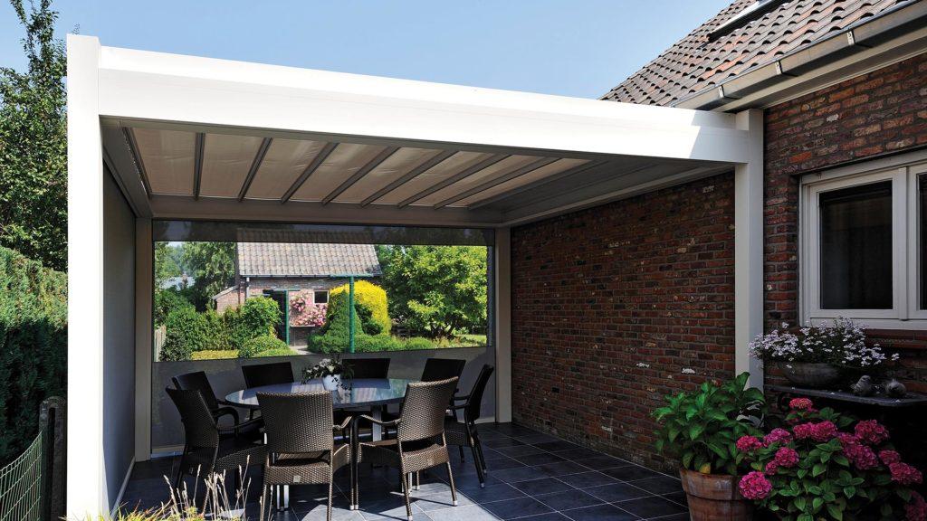 pergola bioclimatique installation de pergolas brustor. Black Bedroom Furniture Sets. Home Design Ideas
