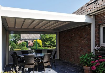 pergola toit de terrasse retractable b300