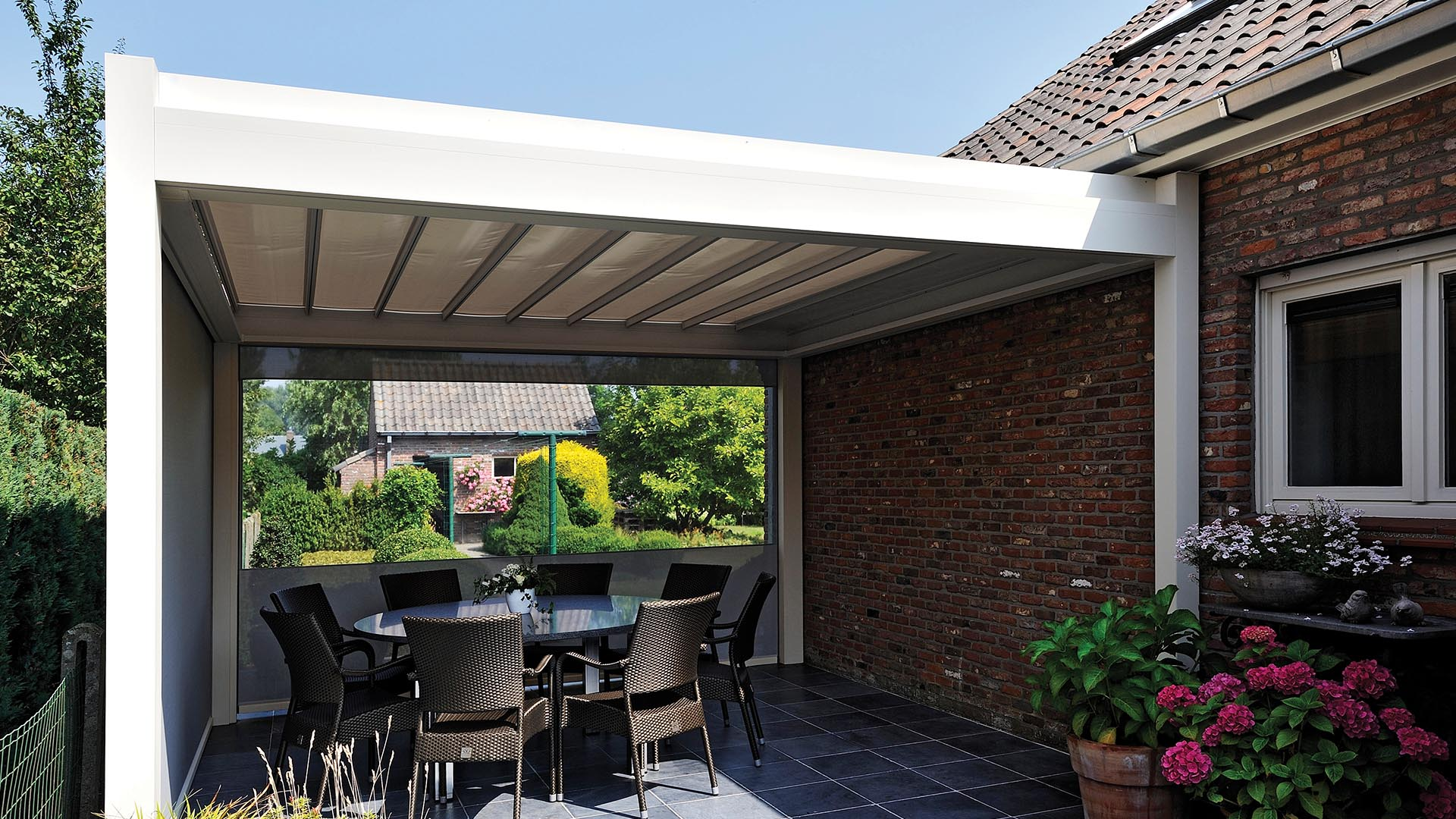 Pergola Bioclimatique Installation De Pergolas Brustor Beaufays